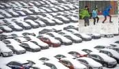 Winter Storm Stella hits NE US,  New York dodges worst