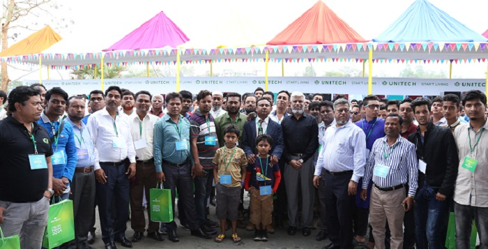 Unitech organises sales conference in factory