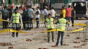 'Suicide bomber' blows himself up in Ashkona