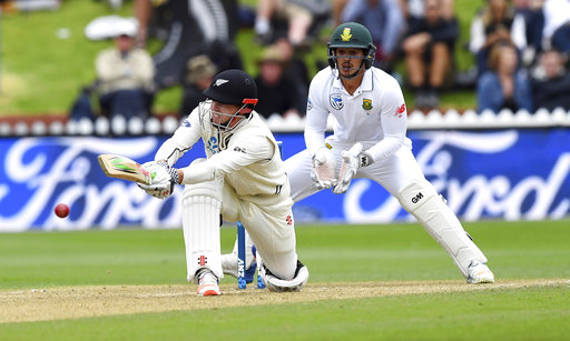 New Zealand 139-5 at tea on day 3, 2nd test vs. South Africa