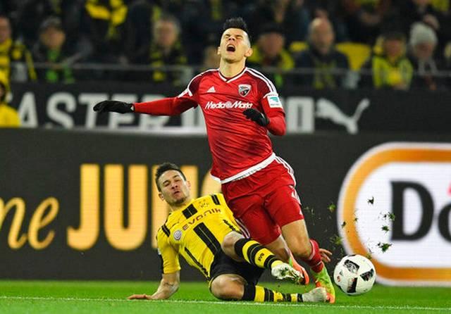 Dortmund hangs on to edge Ingolstadt 1-0 in Bundesliga