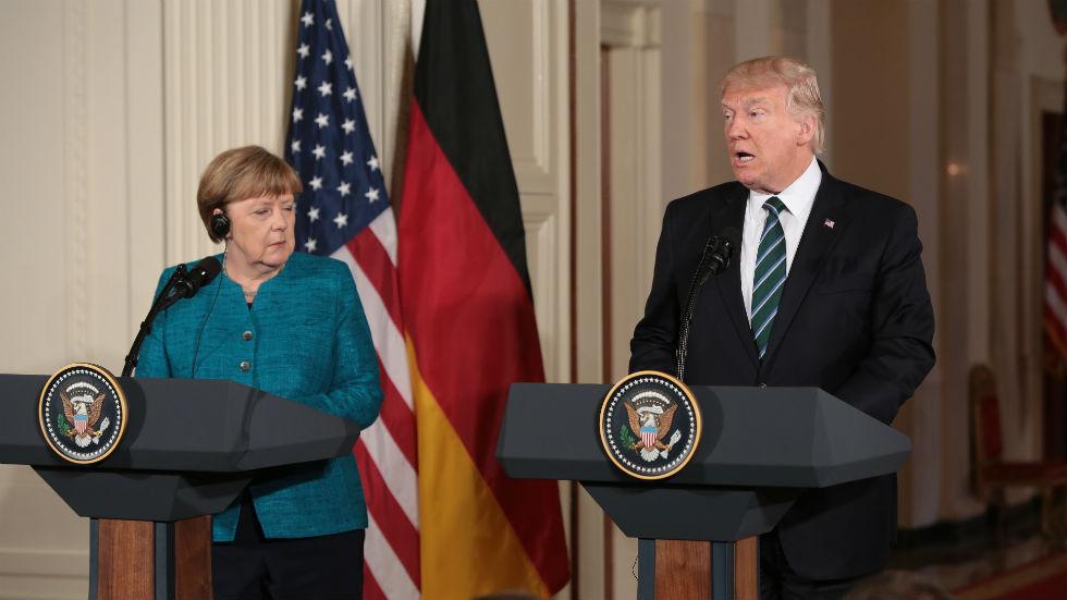 Trump to Merkel: We were both wiretapped under Obama