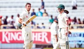 India reply strongly after Smith's epic knock