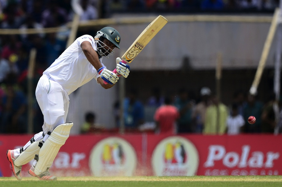 Tamim, Sabbir rebuild as Bangladesh cross 50