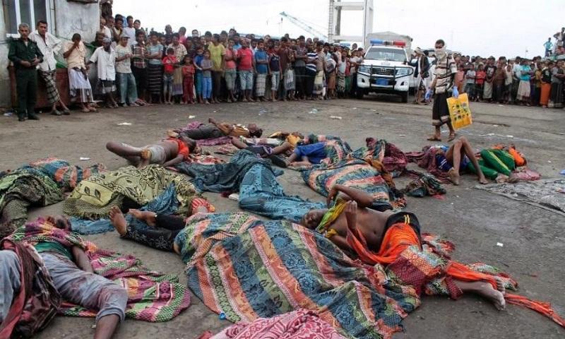 Somalia blames Saudi-led coalition for deadly strike on boat