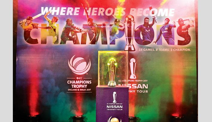 Nissan ICC Champions Trophy Tour Bangladesh leg starts ...