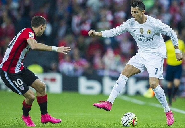 Ronaldo turns playmaker to lead Madrid past Bilbao 2-1