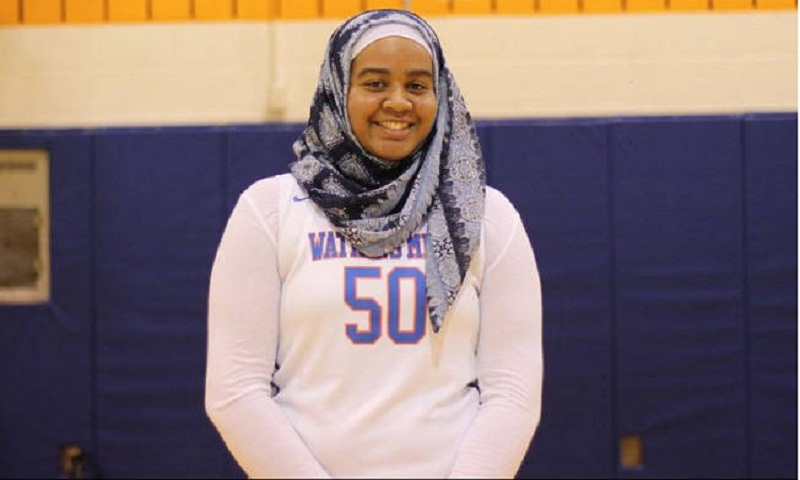 Muslim basketball player barred for wearing hijab in US