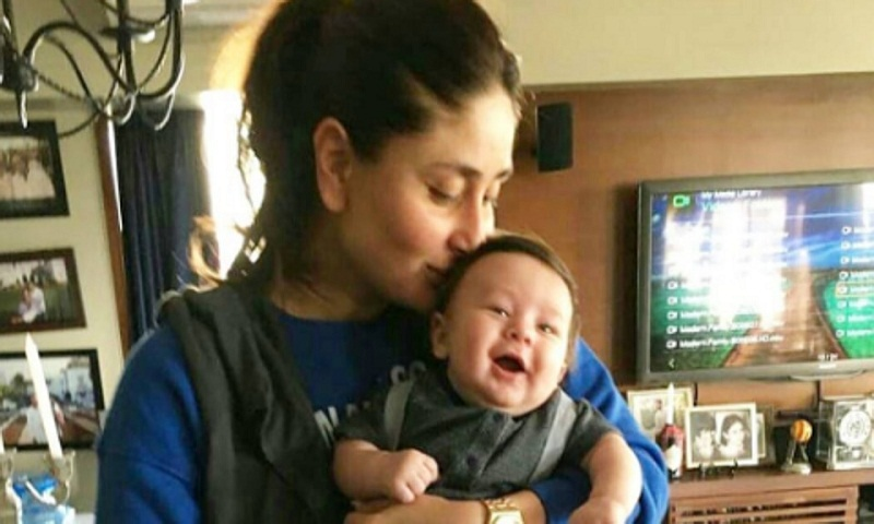 Taimur Ali Khan and mum Kareena's new picture shared online
