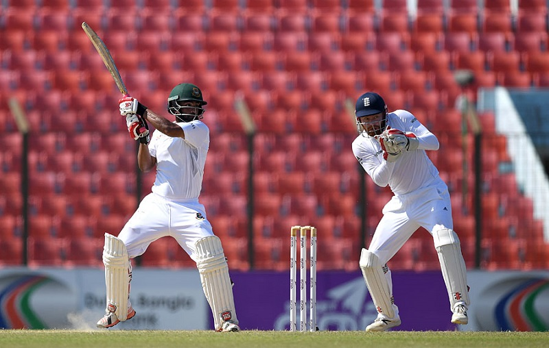 Tamim crosses 50 as Bangladesh reach 105/2