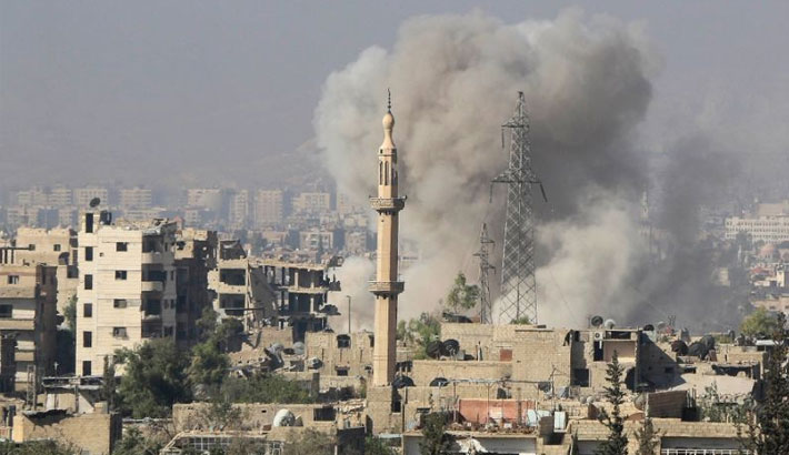 Clashes in Syria capital after surprise rebel assault