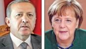 Erdogan accuses Merkel of using  'Nazi measures'