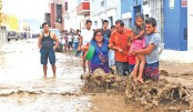 Floods and mudslides kill dozens in Peru