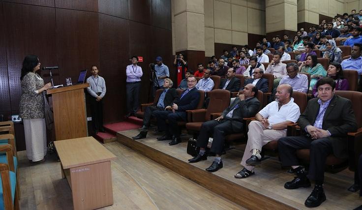 Seminar on Innovative Farming in Bangladesh held at IUB