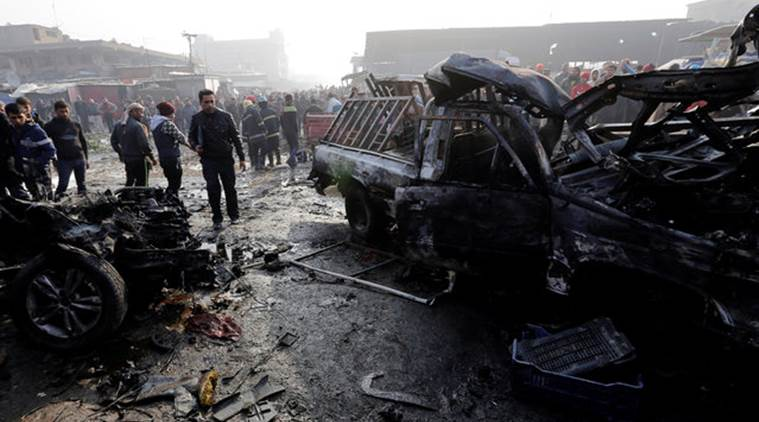 Baghdad car bomb kills at least 21