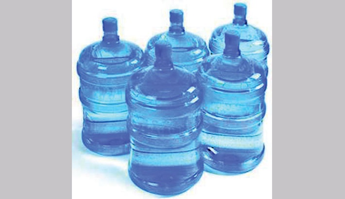 Unsafe jar water floods market