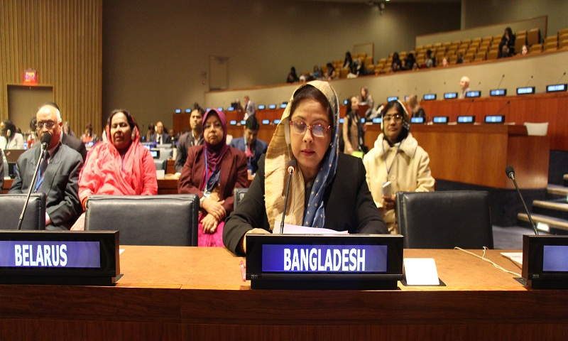 Bangladeshi women now role model in the world: Chumki