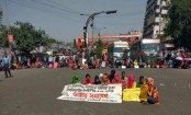 Home Economics College students stage demonstration again