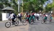 Indo-Bangladesh Army cycling
