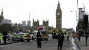 UK Parliament shooting: Police officer 'stabbed'