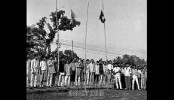 Bangladesh flag hoisted everywhere