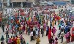 RMG workers block Rampura road
