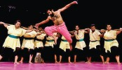 `Nuruldiner Sarajibon' Staged By Indian Troupe