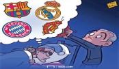 Griezmann Dreams of Real, Barca, Bayern