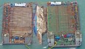 S Korea raises sunken Sewol ferry after 3 yrs