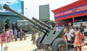 Military hardware exhibition