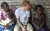 Ed Sheeran says Liberia trip 'hit me really hard'