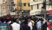 Fire at Karwan Bazzar in the capital