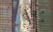 Sunken South Korean ferry set to loaded on transport vessel