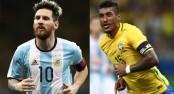 Brazil on brink, Messi revives Argentina