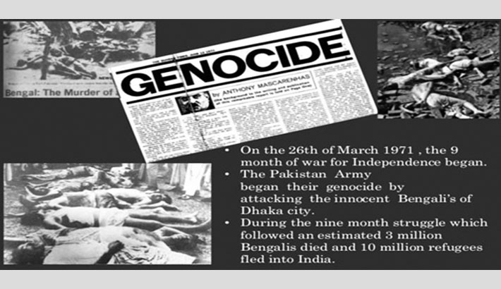 Looking Back at March 25 Genocide