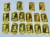 Man held with 16 gold bars at HSIA