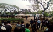 28 families rescued from 'Sylhet militant den''