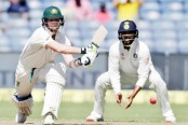 Warner, Smith power Australia to 131/1 at Lunch on Day 1