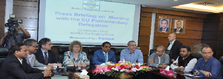 European Parliament delegation meets RMG leaders in Dhaka Monday