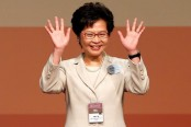 Hong Kong electors choose Carrie Lam to lead city