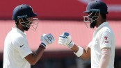 Rahul, Pujara guide India to 64-1 at lunch