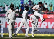 India on the verge of win Dharmasala Test