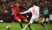 Ronaldo scores brace to join  70-goal landmark