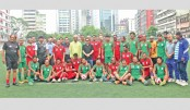 BFF Green Team win Independence Day football