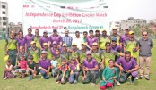 Exhibition match to observe the Independence Day
