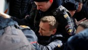 Russia's opposition leader and hundreds others arrested
