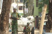 Gunshots heard again as Sylhet raid continues