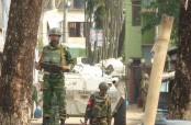 Gunshots heard again as Sylhet raid continues