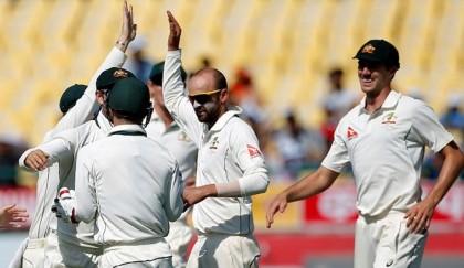 Lyon roars for Australia in fourth India Test