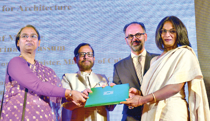 Winners of Aga Khan Award for Architecture honoured